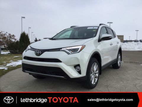 New 2018 Toyota RAV4 Limited Text 403.894.7645